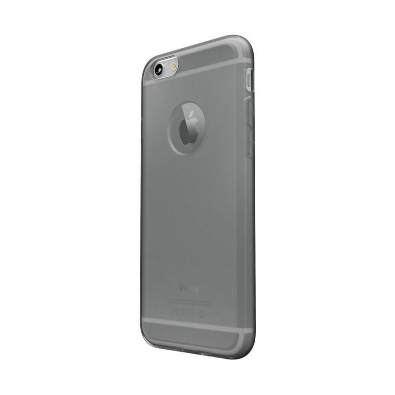 Colorant C0 Soft Clear Black Casing for iPhone 6