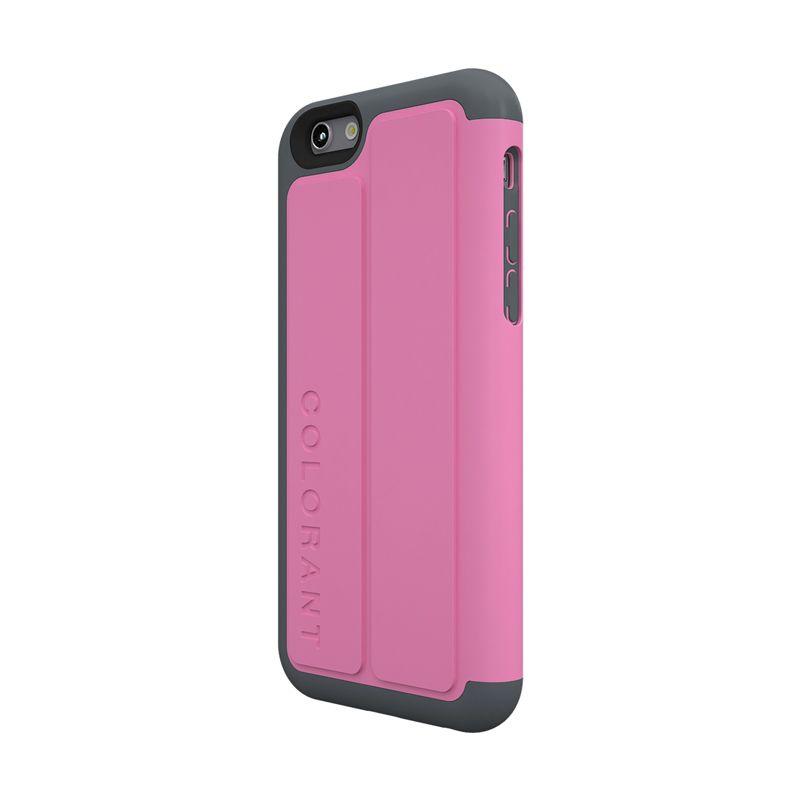 Colorant C3 Folio Pink Casing for iPhone 6