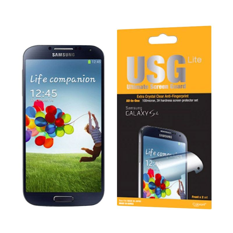 Colorant USG Lite Clear Screen Protector for Samsung Galaxy S4