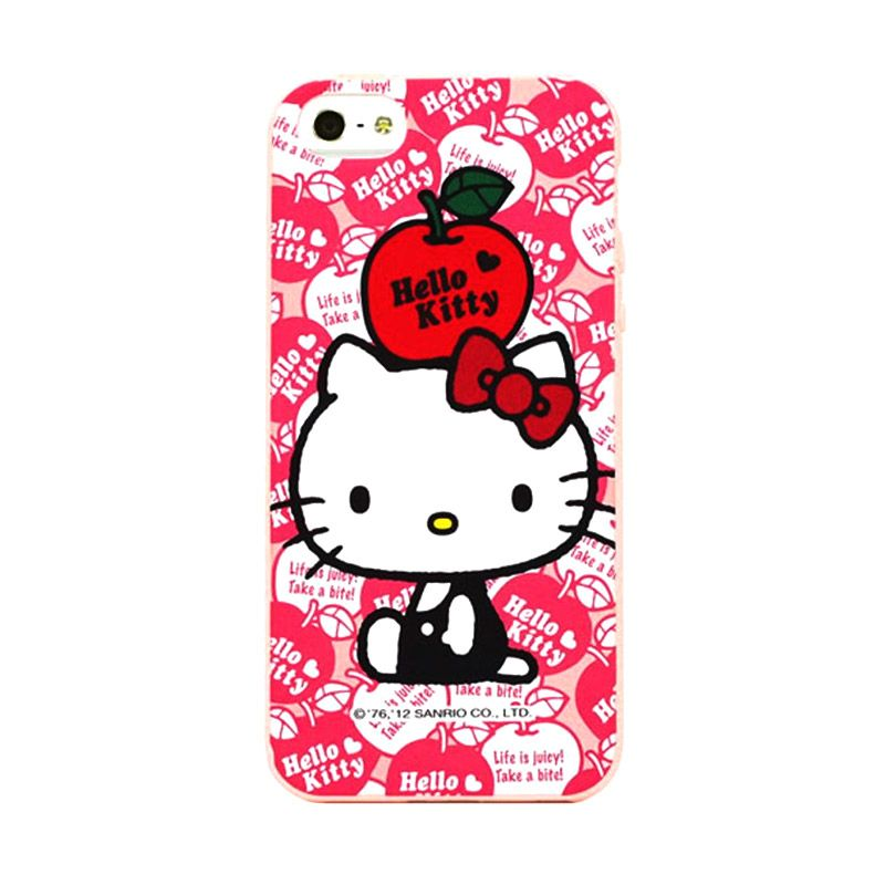 Garmma Hello Kitty Softcase Casing for iPhone 5S