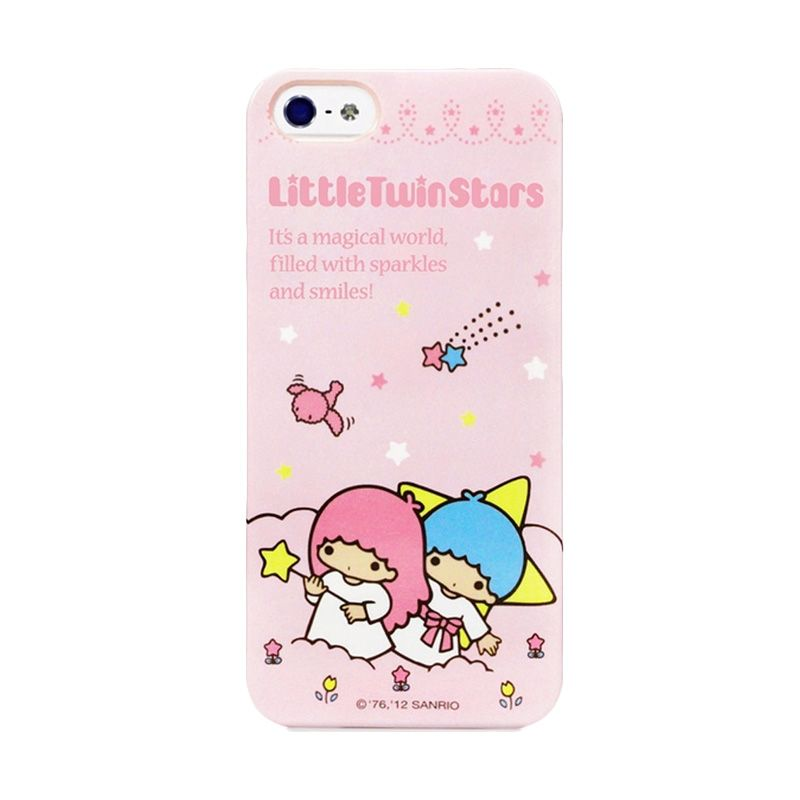 Garmma Little Twin Star Starlit Pink Casing for iPhone 5