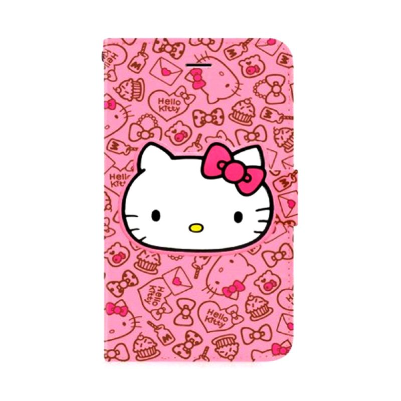 Garmma Book Playful Kitty Pink Casing for iPhone 6 Plus