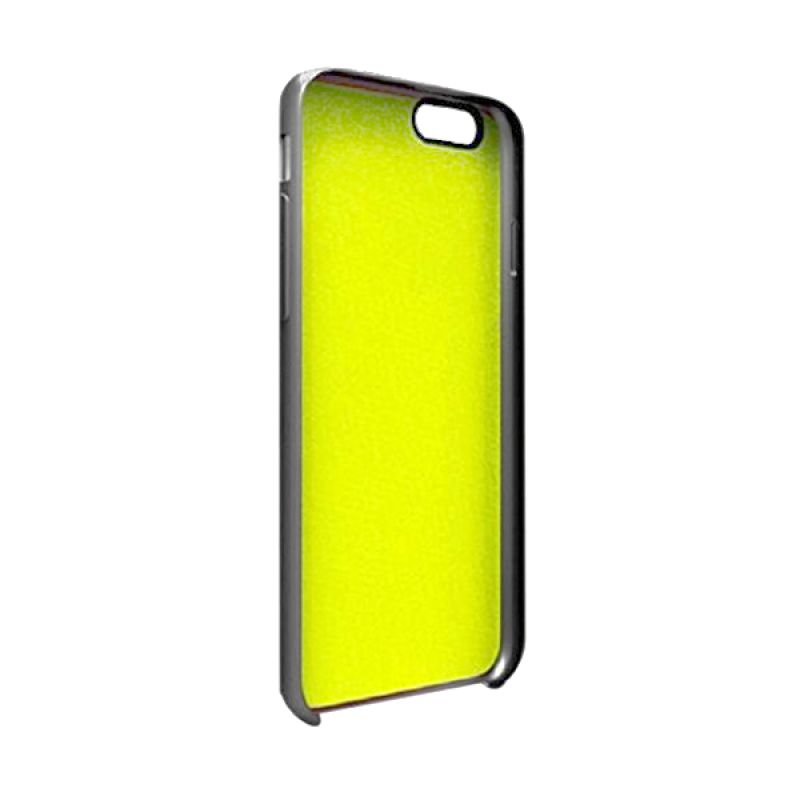 Gear4 Softcase Hitam Lime Casing for iPhone 6