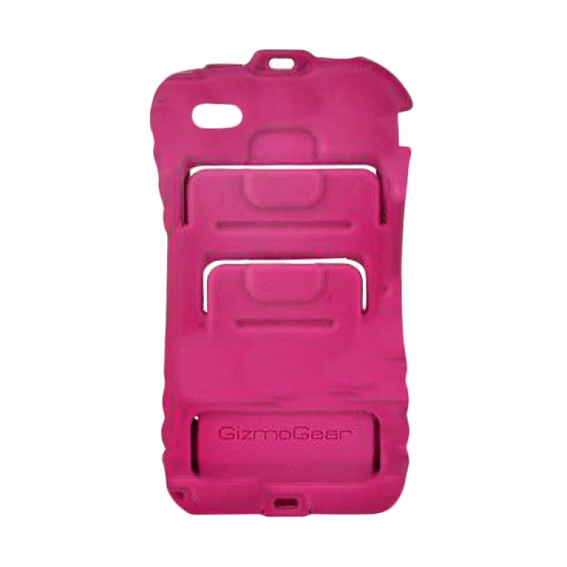 GizmoGear Sport Wallet Pink Casing for iPhone 4