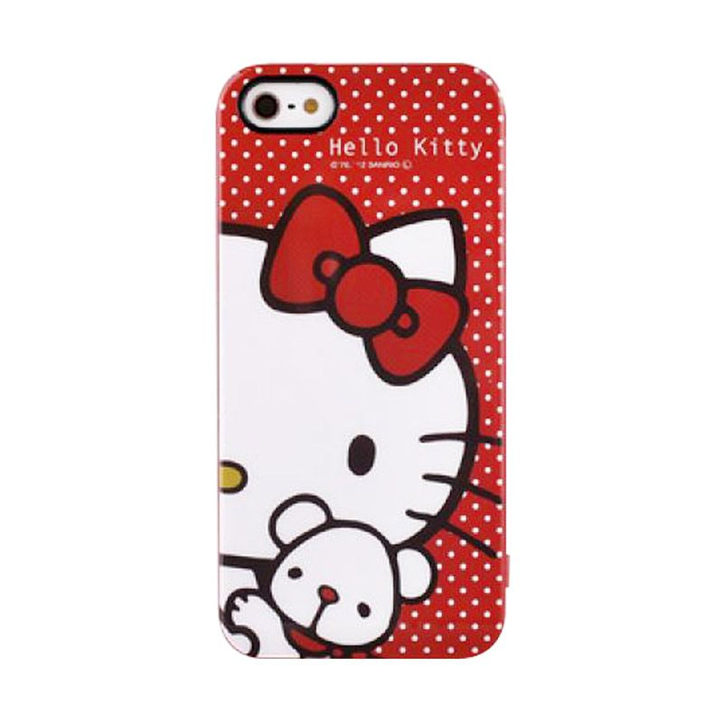 Gourmandise Hello Kitty Red Hard Casing for iPhone 5S