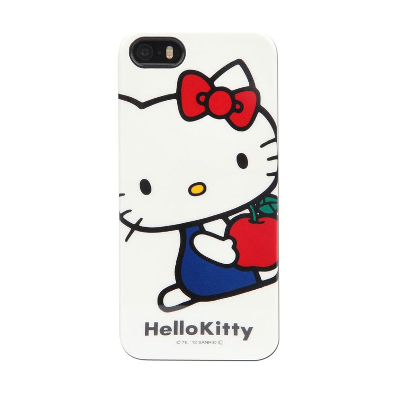 Gourmandise Hello Kitty White Hard Casing for iPhone 5S