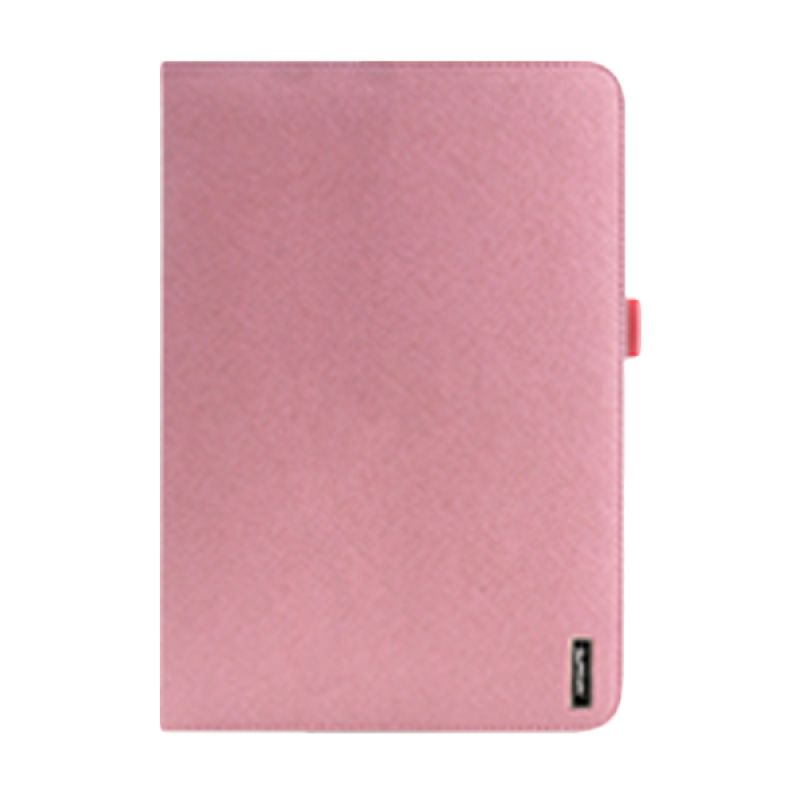 iPearl 360 Degree Rotatable Leather Case Pink Casing for iPad Air 2