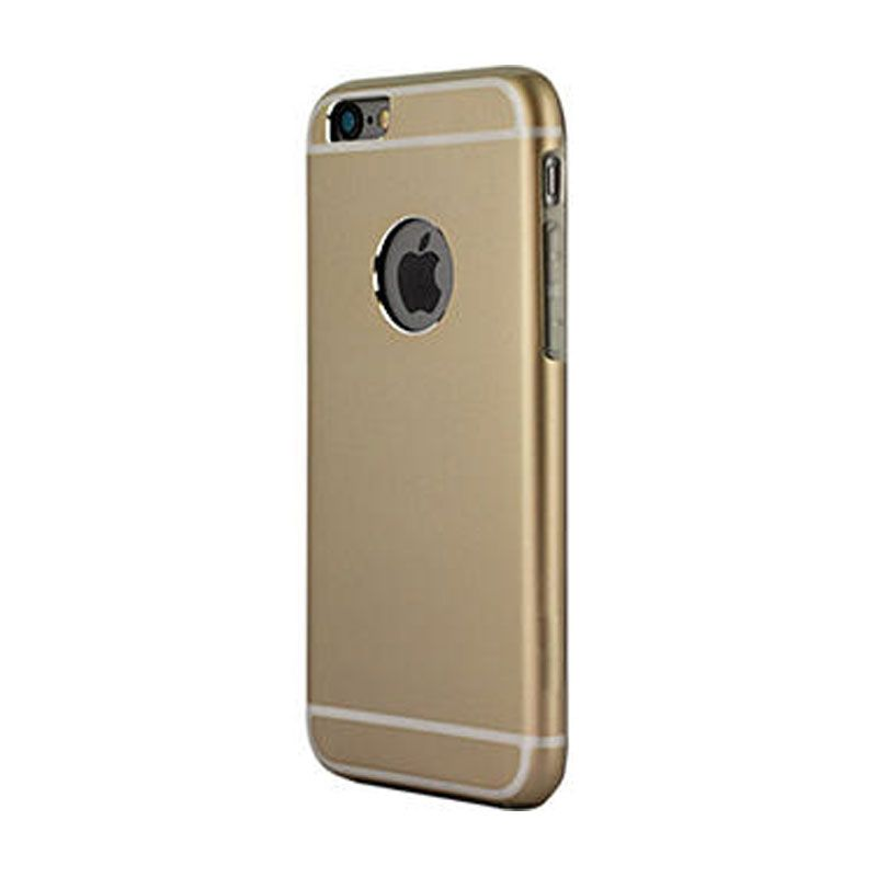 iPearl Glaze Aluminum Pro Champagne Gold Casing for iPhone 6 Plus