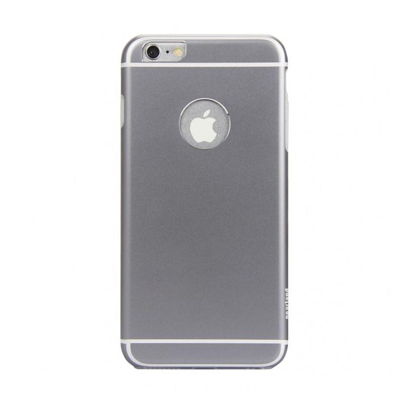 iPearl Glaze Aluminum Pro Space Grey Casing for iPhone 6 Plus