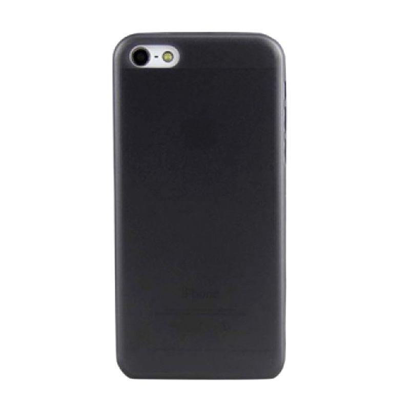 iPearl Ice Super Slim Hitam Casing for iPhone 5C