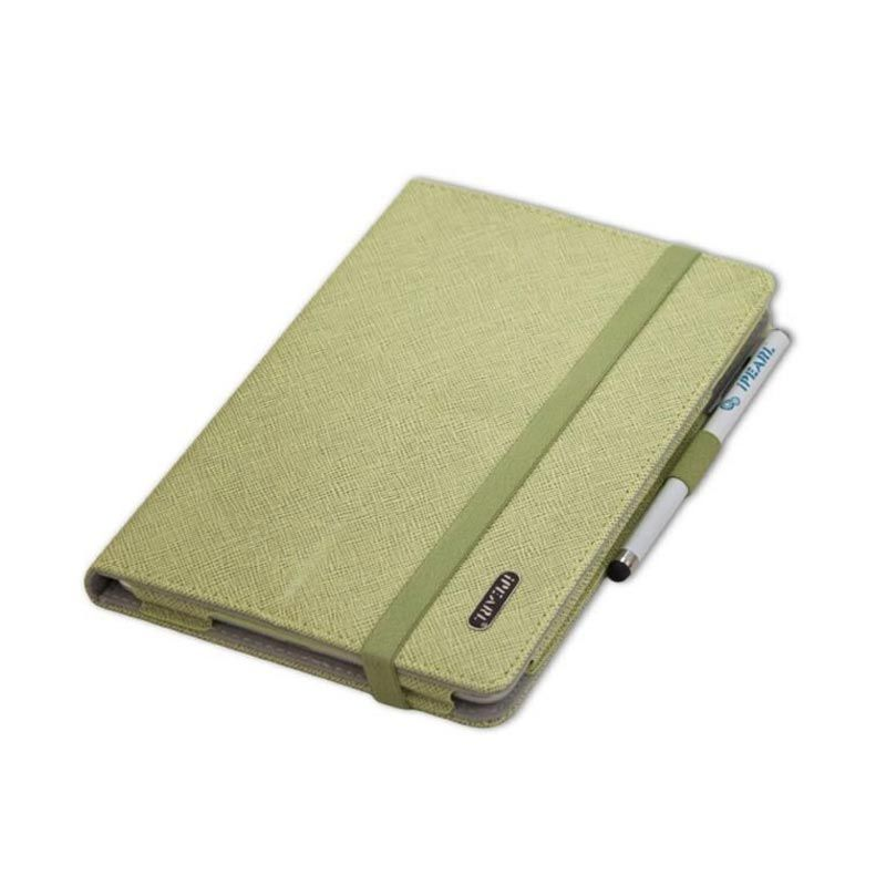 iPearl Leather with Stand Hijau Casing for iPad New