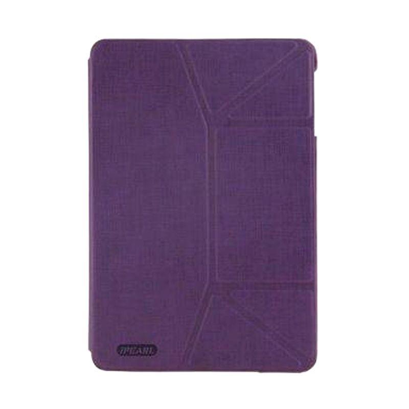 iPearl Magic Foldable Leather Magenta Casing for iPad Air 2