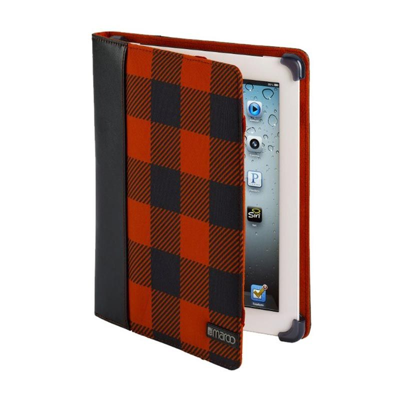 Maroo iPad Koe II Black Red Casing for Ipad