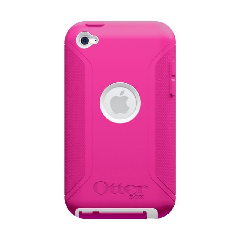 OtterBox iPod Touch 4 Defender White Hot Pink Casing