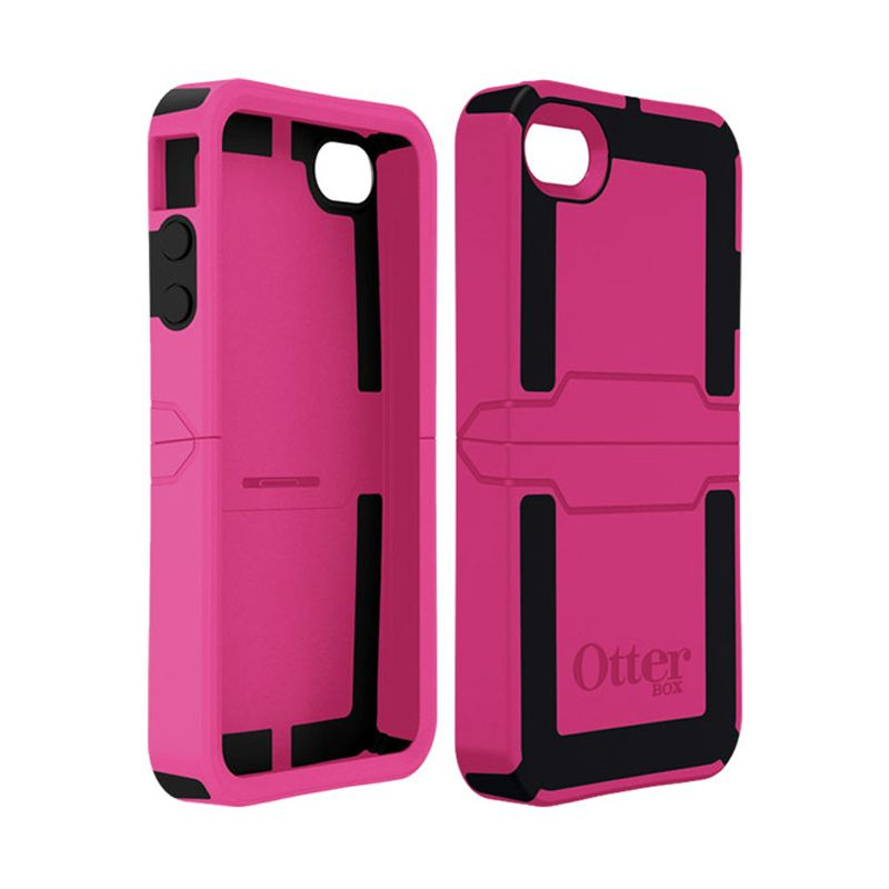 OtterBox Reflex Pink Hitam Casing for iPhone 4