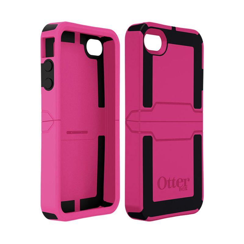 OtterBox Reflex Pink Hitam Casing for iPhone 4