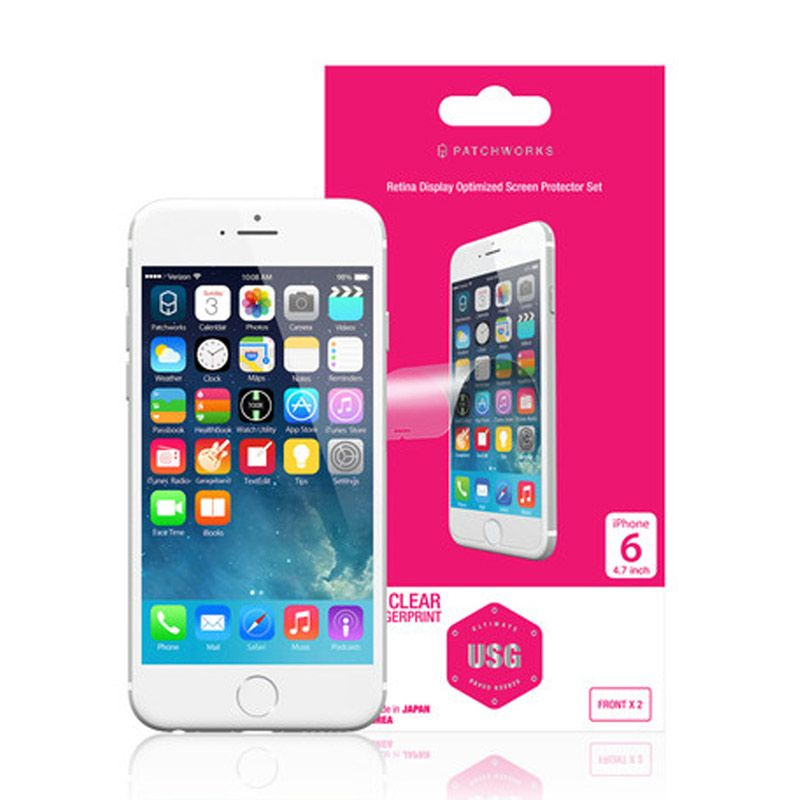 Patchworks USG Frontx2 Clear Skin Protector for iPhone 6 Plus