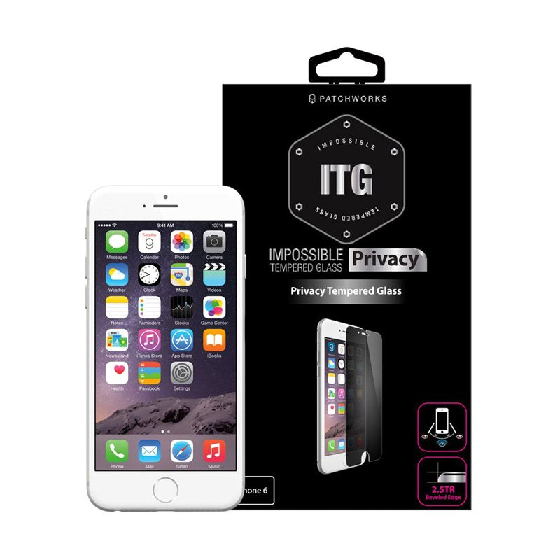 Patchworks ITG Pro Privacy Glass Clear Screen Protector For iPhone 6