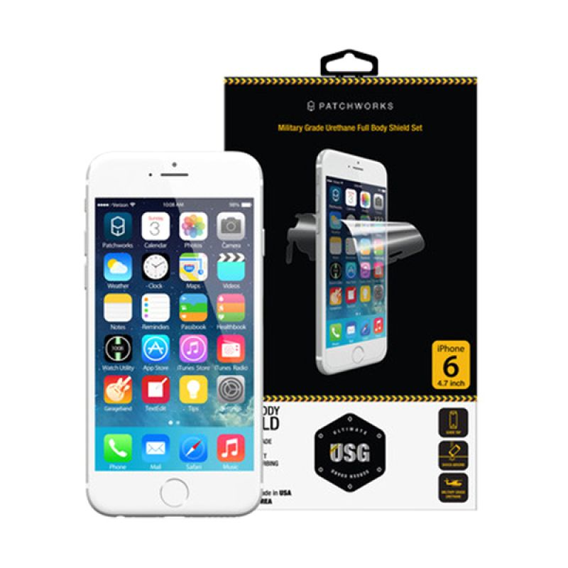 Patchworks USG Tough Urethane Shield Clear Screen Protector for iPhone 6