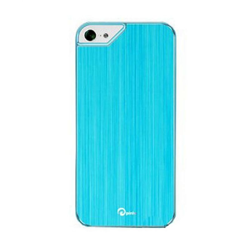 Pinlo Concize Metal Light Blue Casing for iPhone 5