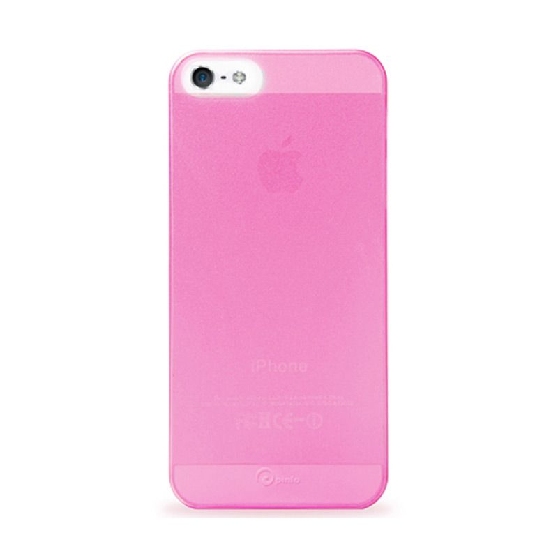 Pinlo iPhone 5 Slice 3 - Transparent Pink