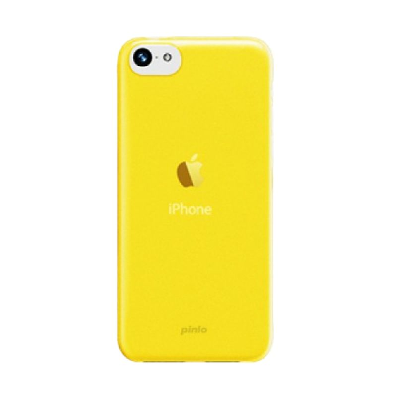 Pinlo Slice 3 Transparent Kuning Casing for iPhone 5C