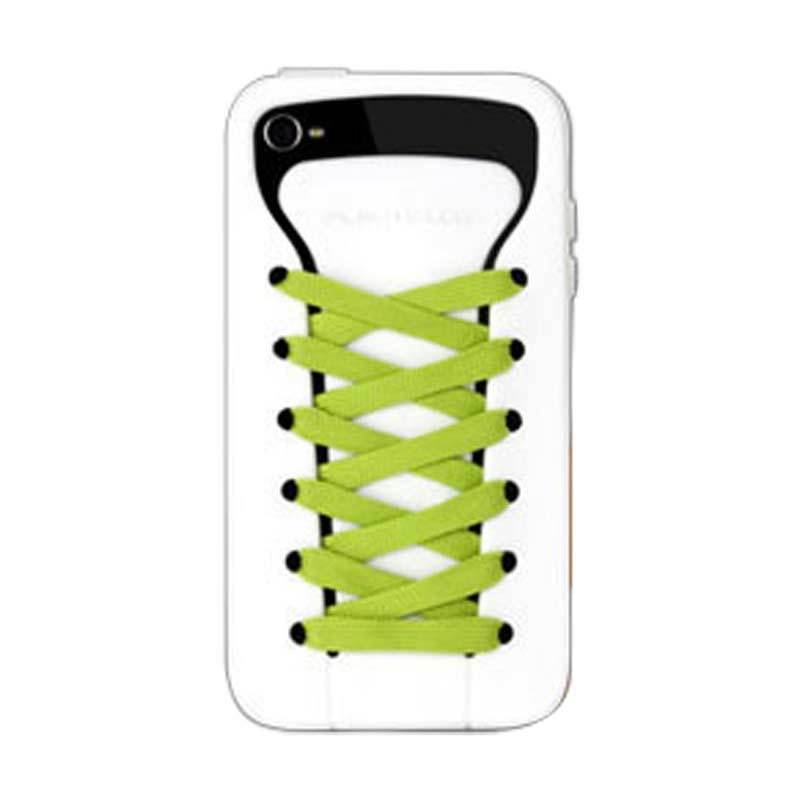 PlayHello iShoes Putih Casing for iPhone 4