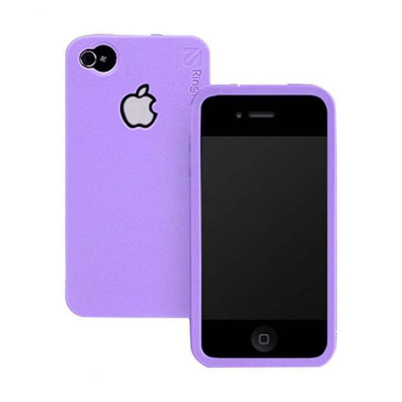 Rearth iPhone 4S Ringke Lavender Casing