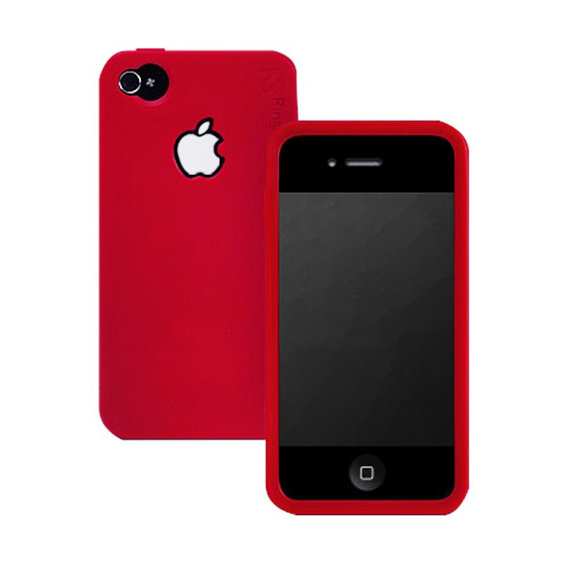 Rearth iPhone 4S Ringke - Wine Red Casing