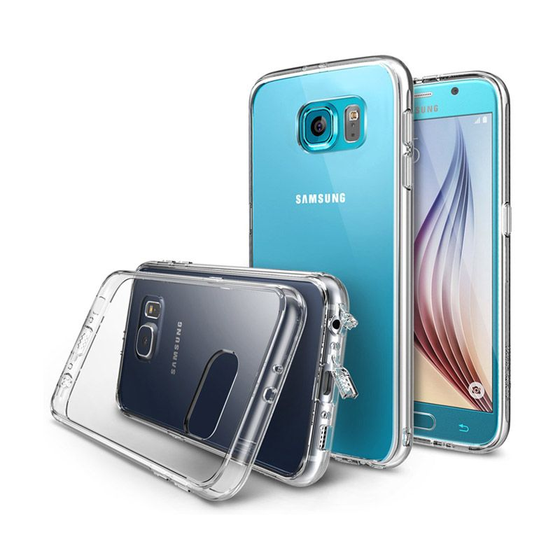 Rearth Ringke Fusion Transparent Casing for Samsung Galaxy S6