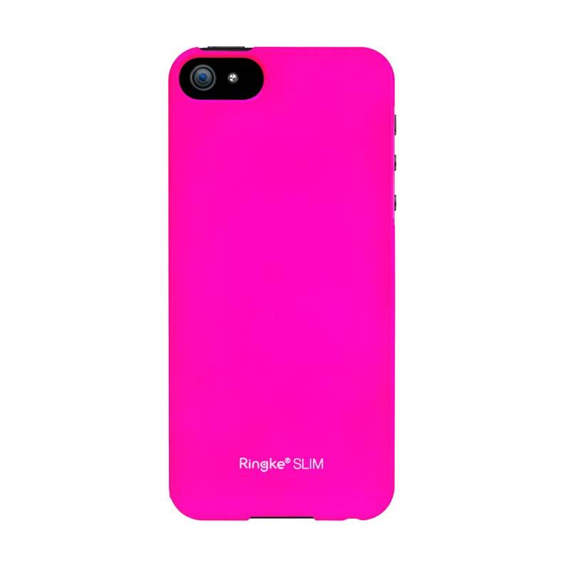 Rearth Ringke Slim LF Pink Casing For iPhone 5