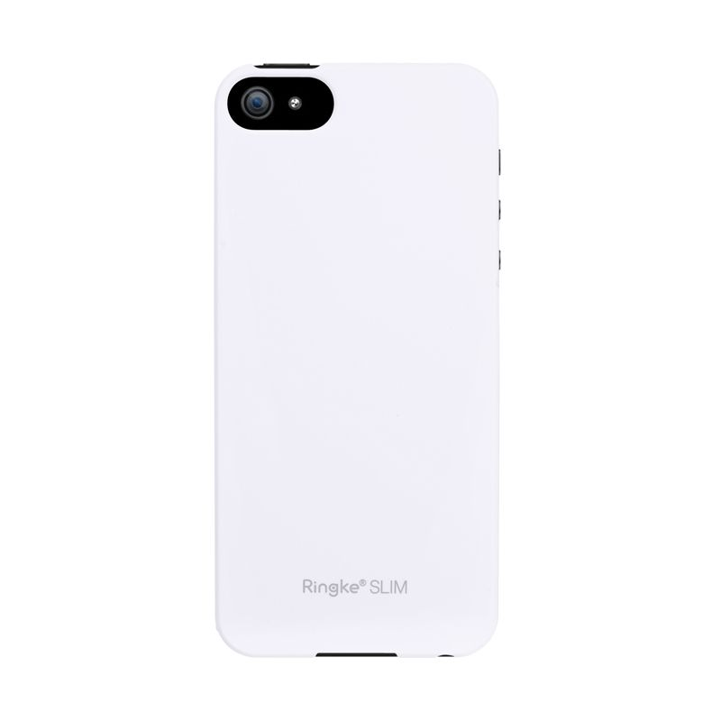 Rearth Ringke Slim - LF White Casing For iPhone 5