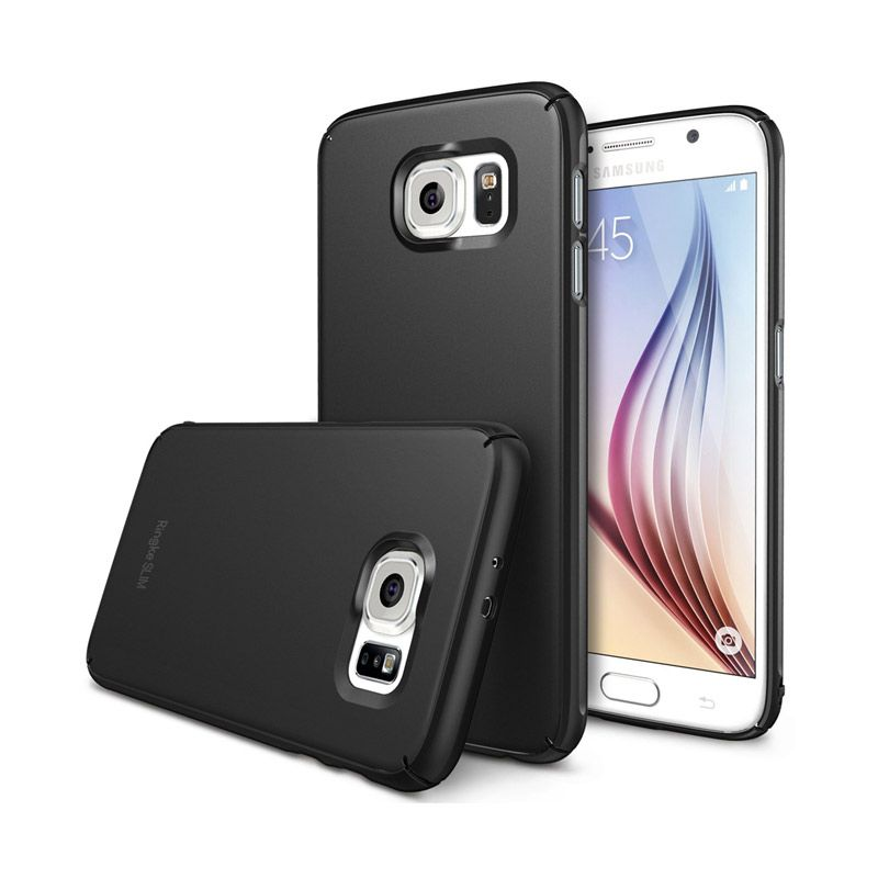 Rearth Ringke Slim SF Black Casing for Samsung Galaxy S6