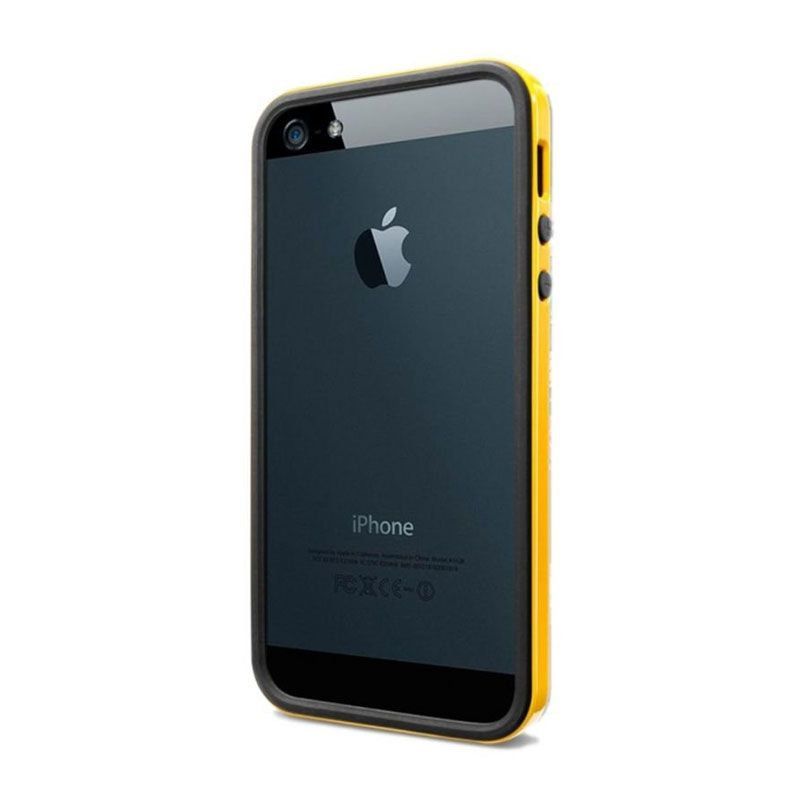 Spigen Neo Hybrid EX Slim Vivid Kuning Casing for iPhone 5