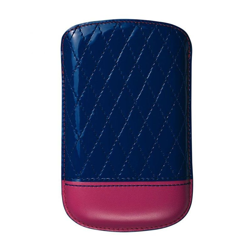 Trexta Capi Biru Fushia Pouch for BlackBerry Dakota 9900