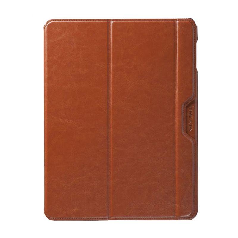 Trexta Shell Folio Coklat Casing for iPad New