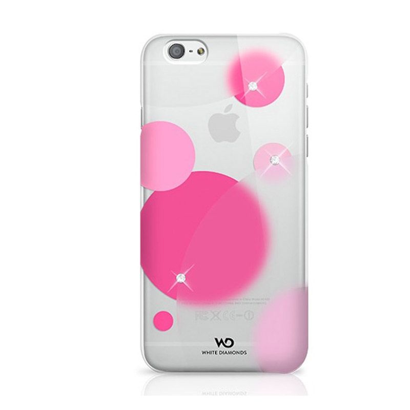 White Diamonds Candy Pink Casing for iPhone 6