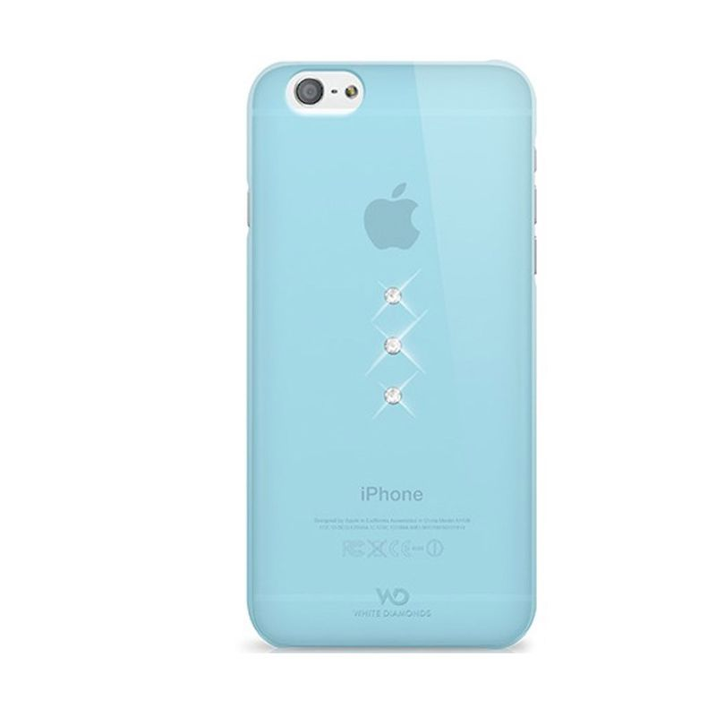 White Diamonds Trinity Light Blue Casing for iPhone 6