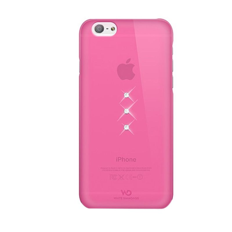 White Diamonds Trinity Pink Casing for iPhone 6
