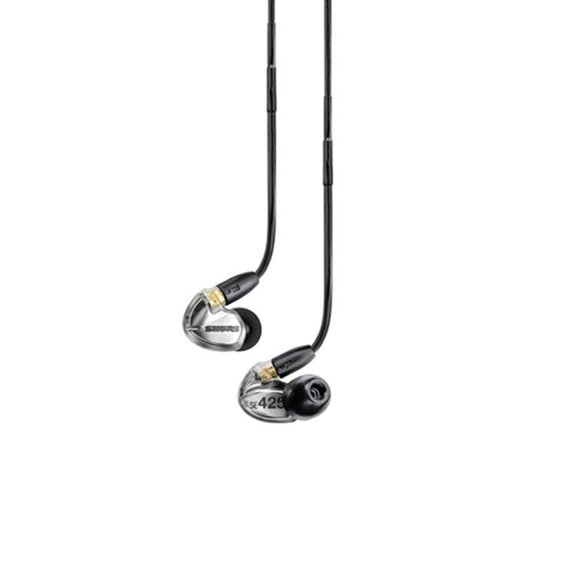 SHURE Earphone SE425 Metalic Silver