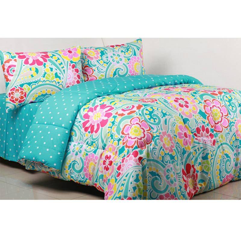 Sierra Allison x Dottie Tosca Set Bedcover dan Sprei