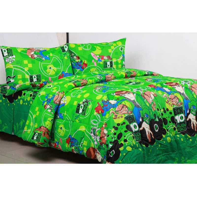 Sierra Ben 10 Set Bed Cover dan Sprei
