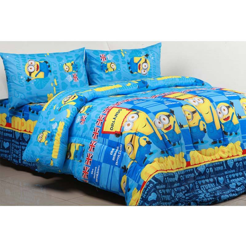 Sierra Minion Invansion Biru Sprei