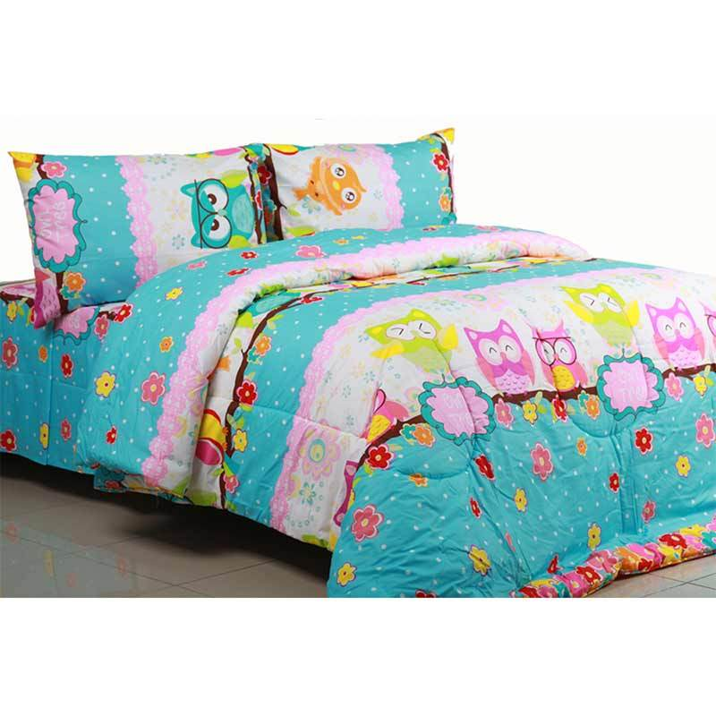 Sierra Owl Tree Multicolor Sprei