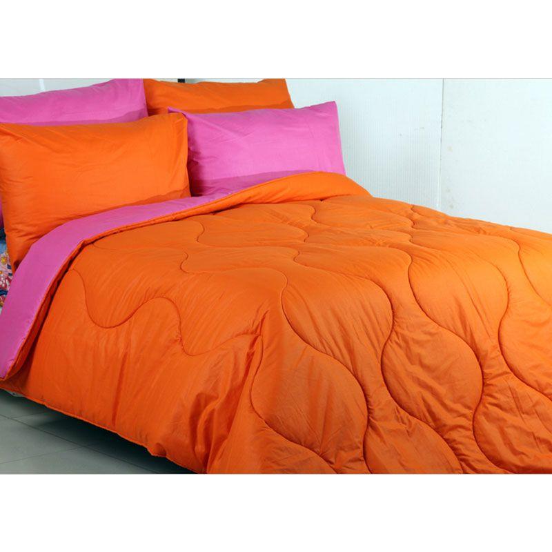 Sierra Polos Fanta x Orange Bedcover dan Sprei