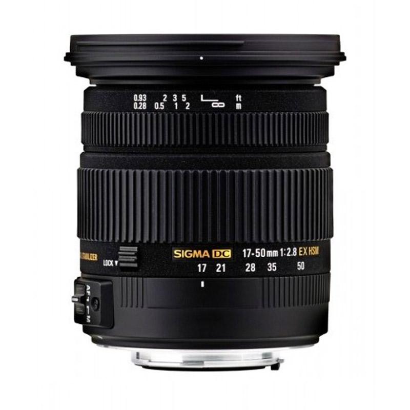 Sigma 17 50mm F 2 8 EX DC OS HSM