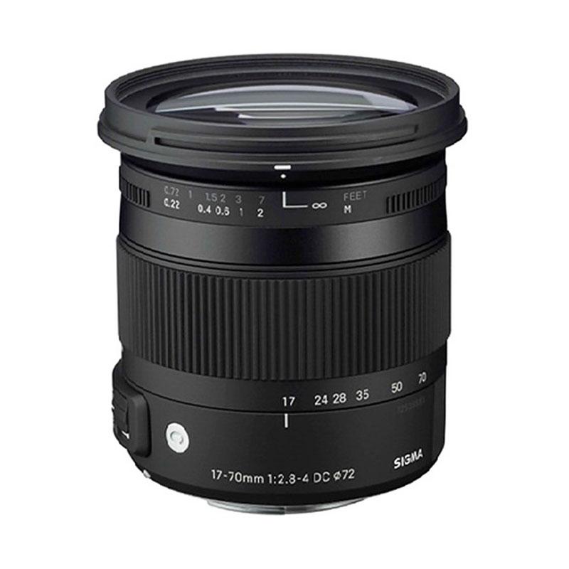 Sigma Lens 17-70mm f/2.8-4 DC Macro OS HSM u/ Canon (C)