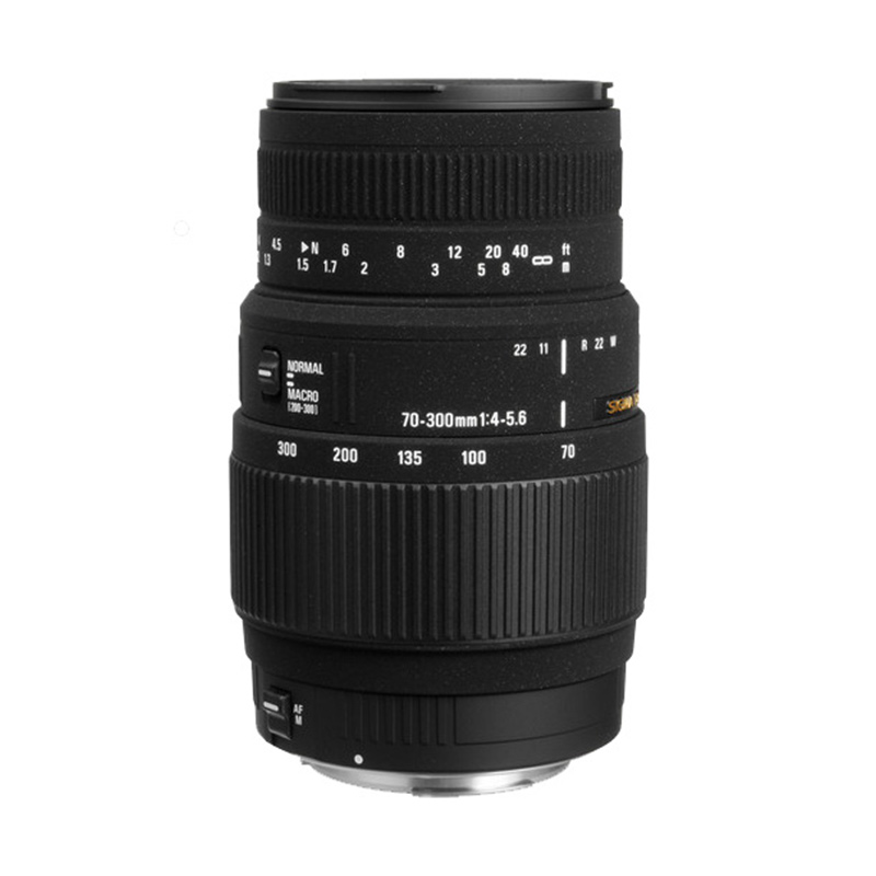 Sigma Lens 70-300mm f/4-5.6 DG Macro for Canon