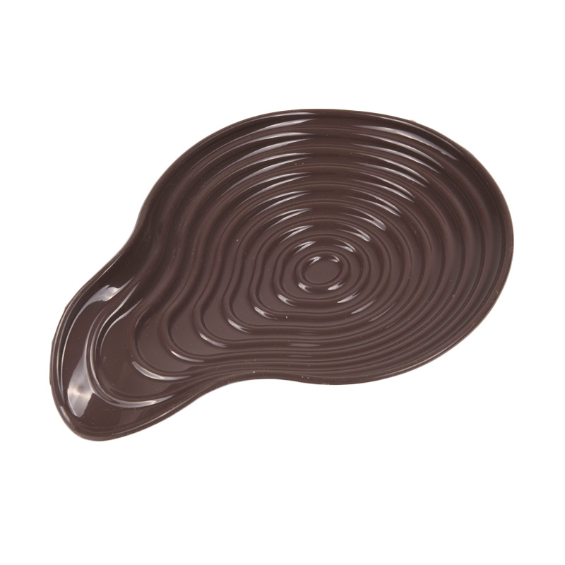 Siliconezone Shell Spoon Rest Cokelat Tua Tatakan Sendok/Laddle