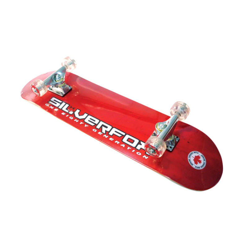 Silver Fox Prof.100% Canadian Maple LY-3108AF Skateboard - Red